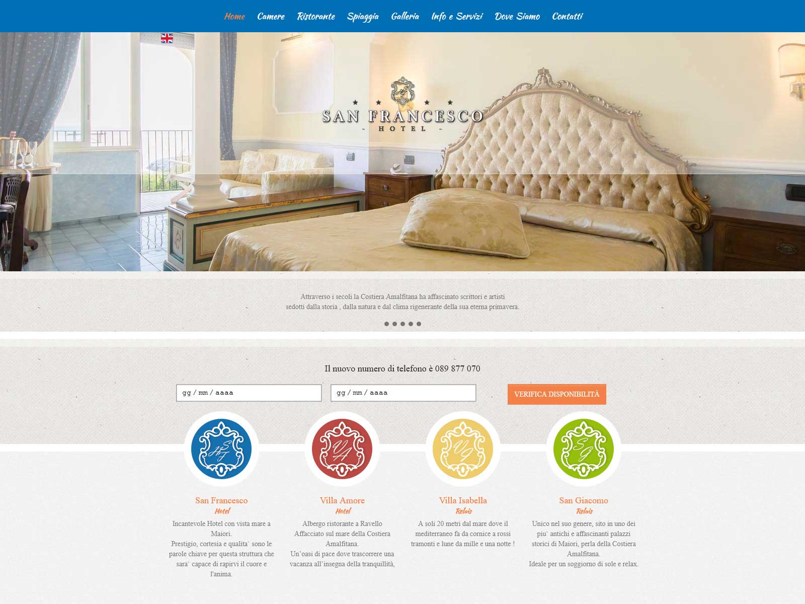 Web design - Site screenshot
