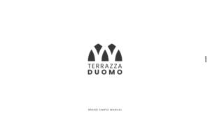 Logo design - Brand manual - Terrazza duomo - Amalfi